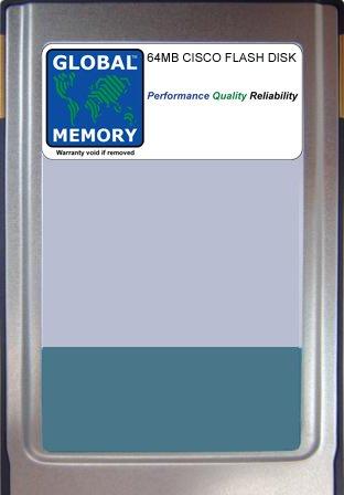 GLOBAL MEMORY Memoria DE Tarjeta Flash 64MB para CIZCO 7500 ...