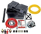 JEGS Performance Products 10278K Deluxe Automotive/Marine Type Battery Relocation Kit