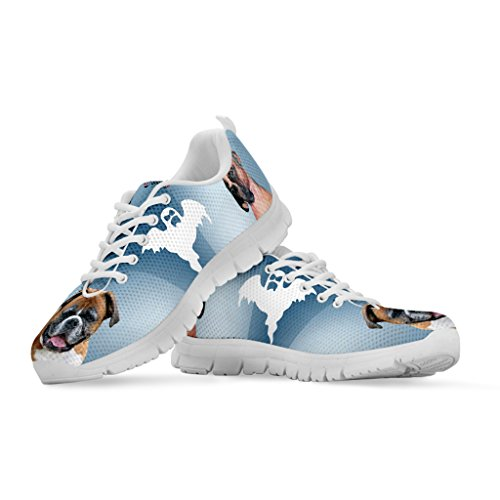 Boxer Women's Sneakers Breed Choose All Running Halloween Shoes Women's Dog Print Your Casual wACHp1qwU