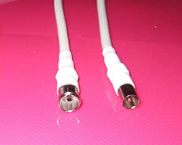 Generic hembra coaxil RF largo 5 m cable antena macho a ...