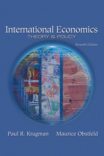 International Economics: Theory and Policy plus MyEconLab plus eBook 1-semester Student Access Kit (7th Edition)