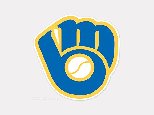 (MLB Milwaukee Brewers 45207011 Perfect Cut Color Decal, 4