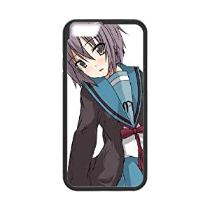 Popular And Durable Designed TPU Case With yuki nagato iphone 6s 4.7 Inch Cell Phone Case Black