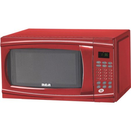 microwave oven red color - 5