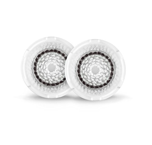 Clarisonic Brush Heads (Clarisonic Sensitive Facial Cleansing Brush Head Replacement, Two Pack)