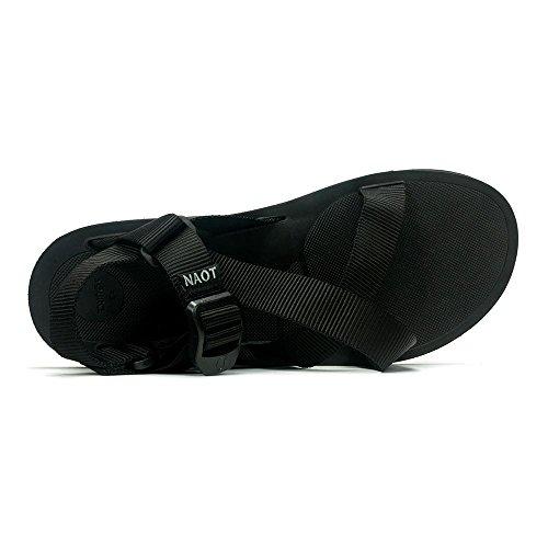 Naot Mens Djungel Sport Sandal X10 Svart