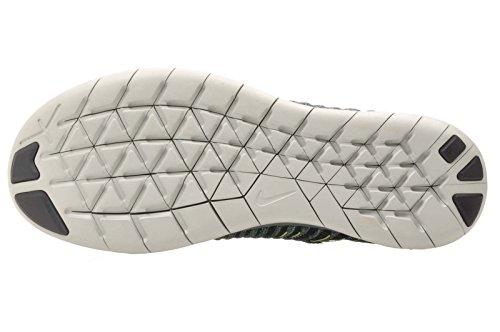 Nike Free RN Flyknit MTLC (GS) Hasta / Geist-Grün - Meerespflanze