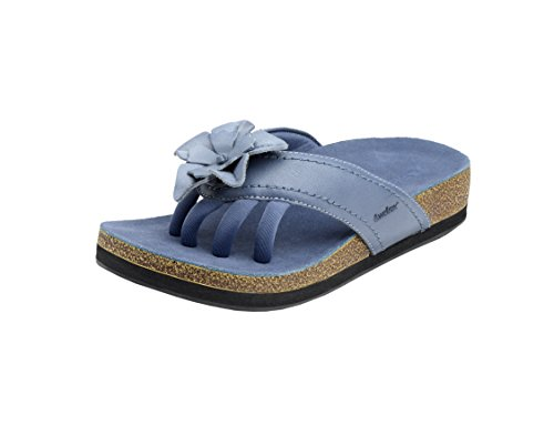 Wellrox Women's Terra-Chloe Blue Casual Sandal 8 by Wellrox