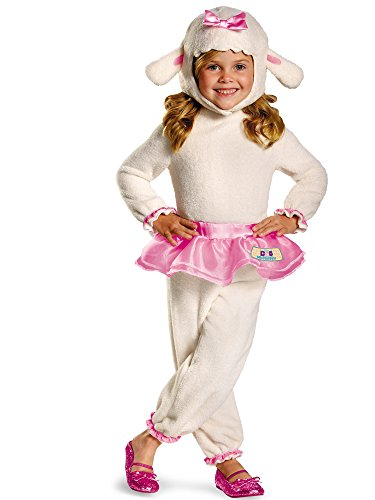 Disney Doc Mcstuffins Lambie Classic Toddler Costume, Medium/3T-4T