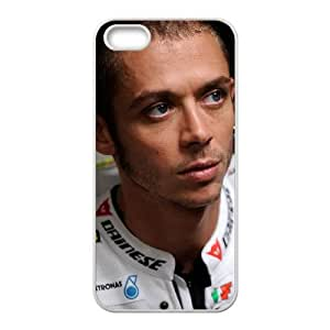 iPhone 4 4s Cell Phone Case White Valentino Rossi0 Hard Custom Phone Case Cover CZOIEQWMXN16381