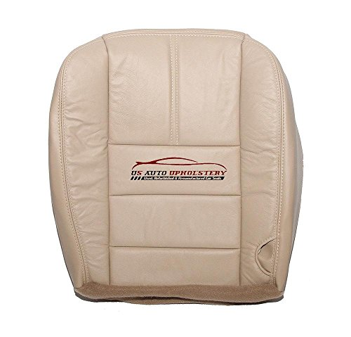 US Auto Upholstery 2008 2009 2010 Ford F350 Diesel Lariat Driver Side Bottom Leather Seat Cover Camel TAN