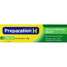 Canadian Preparation H Cream with Bio-dyne Large 50 Gram size. Bio-Dyne, a natural yeast cell extract, is The Models' secret for younger looking eyes. by Pfizer [Beauty]