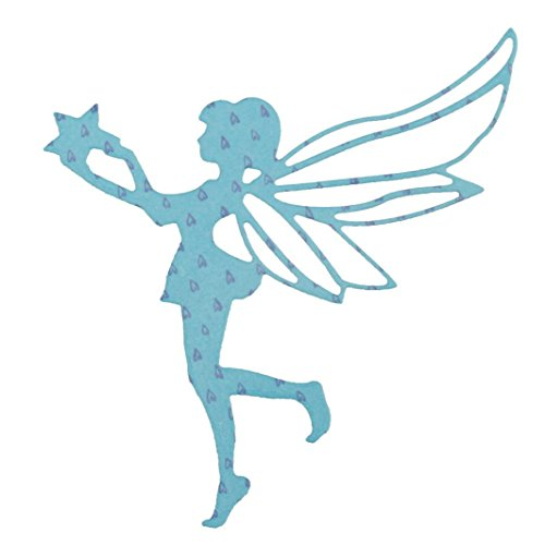 Tuu DIY Cutting Dies Angel Metal Stencils Embossing Crafts Embossing Folder for Scrapbooking Album Paper Card (A)