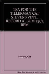 Tea For The Tillerman Cat Stevens Vinyl Record Album 331 3