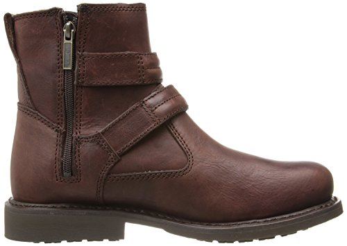 Harley Davidson-Dennis Boot Men's, 3 file, 10 M, colore: Marrone