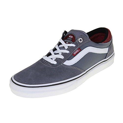 Vans Mens Gilbert Crockett Pro Scarpe Da Skateboard (sughero) Grigio Scuro