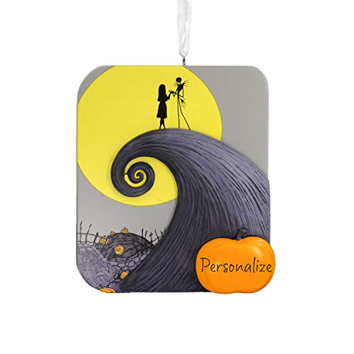 (Hallmark Christmas Ornaments, Disney The Nightmare Before Christmas Jack and Sally Personalized)