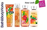 Bath & Body Works MANGO MANDARIN Gift Set - Body Lotion - Body Cream - Fragrance Mist & Shower Gel