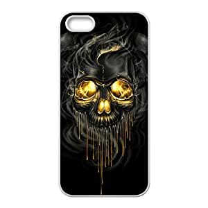 Shiny melting skull Cell Phone Case for iPhone 5S
