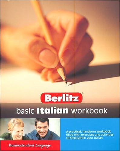 Book Basic Italian Berlitz Workbook