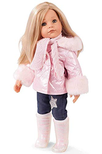 "Gotz Hannah All Year Round - 19.5"" Posable Doll with Extra Outfits & Accessories for Every Season - Long Blonde Hair to Wash & Style with Stone Grey Eyes"