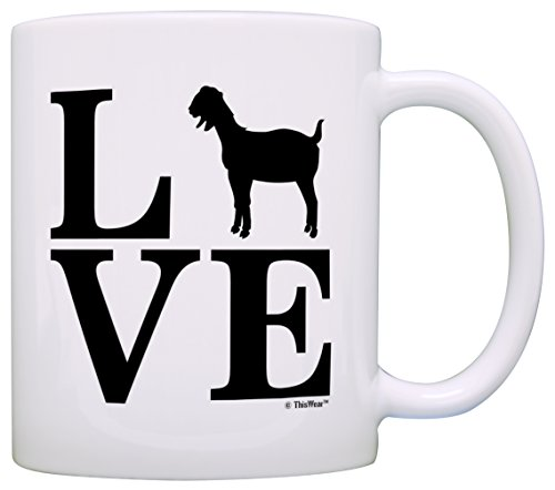 Love Goats Coffee Mug