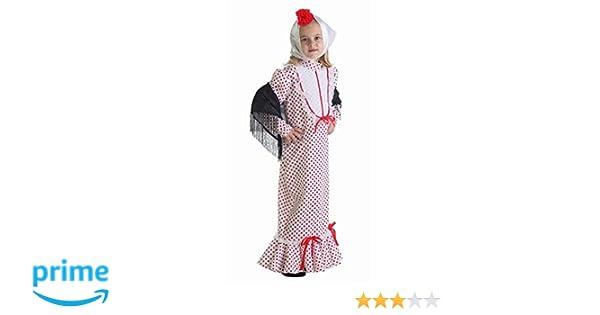 LLOPIS - Disfraz Infantil chulapa Coral tl
