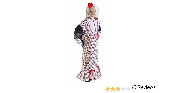 LLOPIS - Disfraz Infantil chulapa Coral t-l: Amazon.es: Juguetes y ...