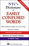 img - for Ntc's Dictionary Easily Confused Words: With Complete Examples of Correct Usage (National Textbook Language Dictionaries) book / textbook / text book