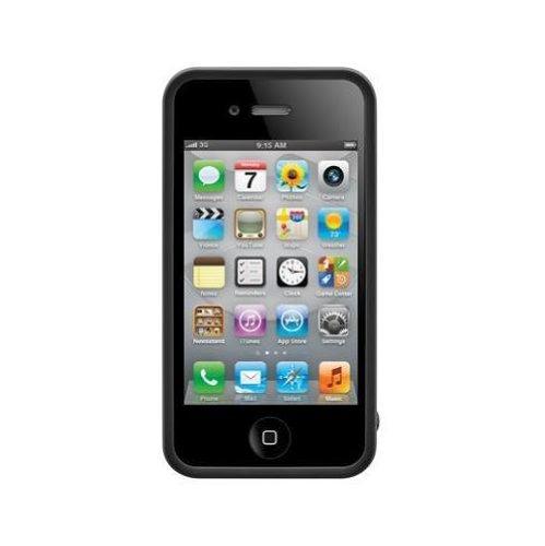 SwitchEasy Avant-garde Clockwork Schutzhülle Schwarz für Apple iPhone 4/4S