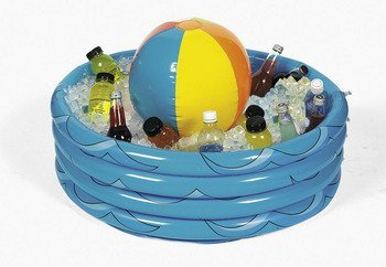 Inflatable Beach Ball In Pool Cooler by FEX