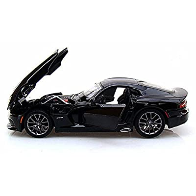 Maisto 2013 Dodge Viper SRT GTS 1/24 Scale Diecast Model Car Black: Toys & Games