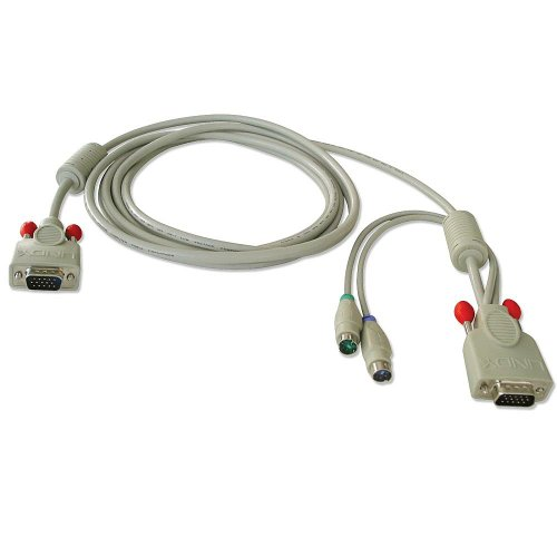 Lindy Combined KVM Cable for LINDY P16 / PXT and U Series...