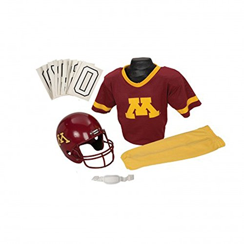 [Franklin Sports NCAA Youth Uniform Set] (Gopher Costumes)