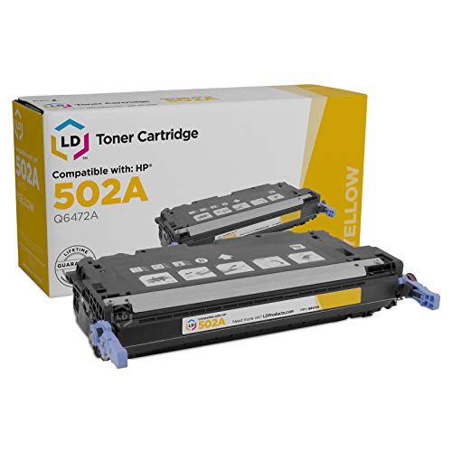 LD Products Remanufactured Toner Cartridge Replacement for HP ELI75180 ( Yellow )