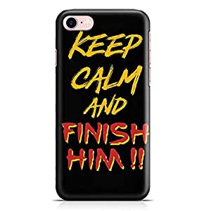 Loud Universe Finishim Him iPhone 7 Case Mortal Kombat iPhone 7 Cover with 3d Wrap around Edges
