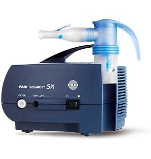 Pari 085G3200 Turbo Boy SX - Inhalador, color azul