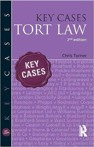 Key Cases: Tort Law