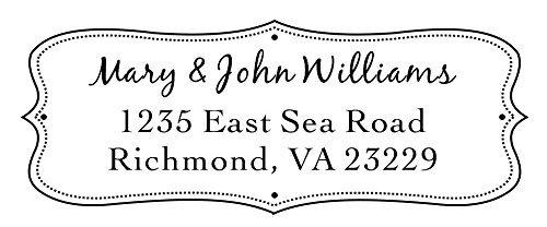 Designer Customized Return Address inking product image
