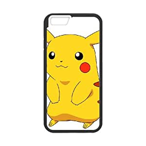 Pikachu iPhone 6 Plus 5.5 Inch Cell Phone Case Black Q6858662