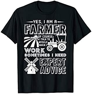 Birthday Gift Farmer  - I Am A Farmer Tee  Short and Long Sleeve Shirt/Hoodie