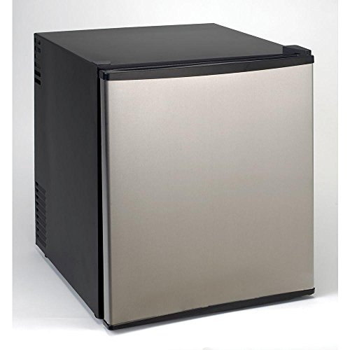 1.7 cu. ft. Superconductor Mini Refrigerator in Stainless Steel with AC/DC Adapter