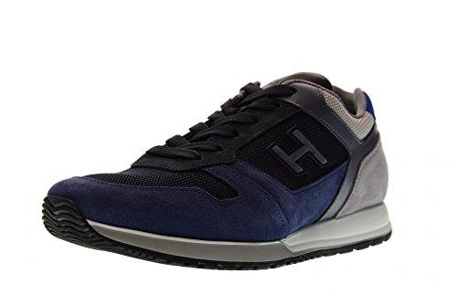 Hogan Schuhe Männer Niedrige Turnschuhe HXM3210Y861I7J785K H321 Blau / Grau