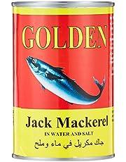 Golden Jack Mackerel In Water And Salt 400G