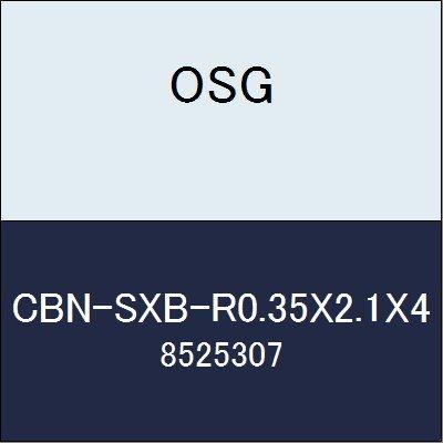 OSG エンドミル CBN-SXB-R0.35X2.1X4 商品番号 8525307