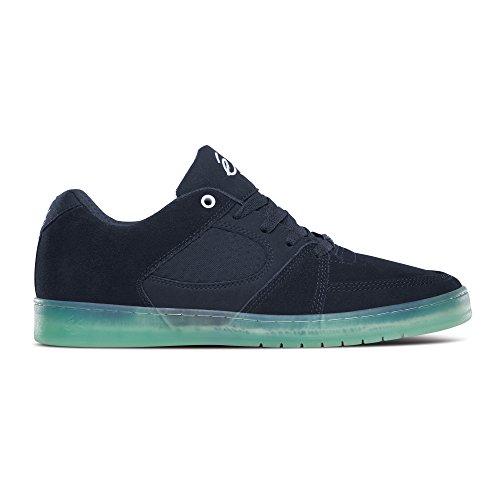 Herren Skateschuh Es Accel Slim Skateschuhe Navy/Blue/White