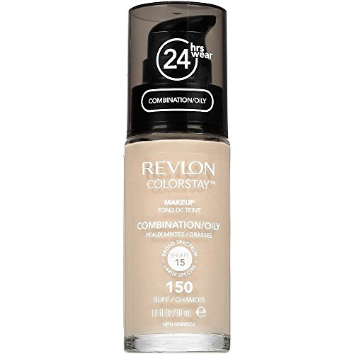 Revlon Colorstay Makeup For Combination/Oily Skin, Buff [150] 1 oz