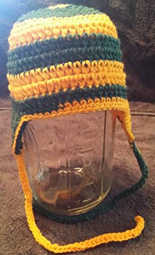 0eb8c606 Amazon.com: Hand Crocheted Baby to Toddler Football Helmet Style hat ...