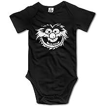 Newborn Clothes Animal Head Silhouette Baby Onesie
