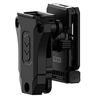 Universal Magazine Belt Pouch, Single Stack Magazine Holster 9mm .40 .45 Double Stack Mag Holder Fits Glock 1911 Sig Sauer Browning Beretta Taurus H&K S&W Most Mags